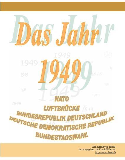 Das Jahr 1949