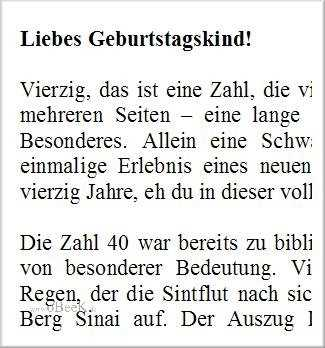Tinnitus Free Spruche Zum 40 Geburtstag Gemein