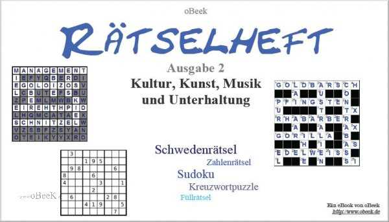 Rätsel - Kultur, Kunst, Musik und Unterhaltung